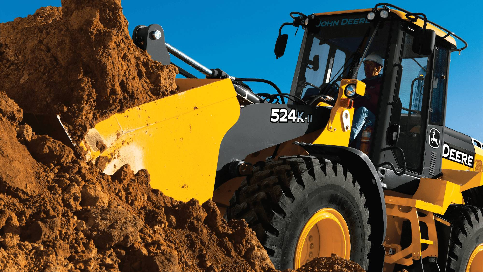 John Deere 524K-II Wheel Loaders