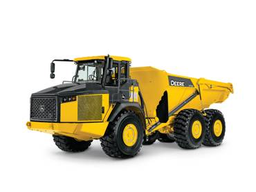 370E Tier 3 Articulated Dump Truck
