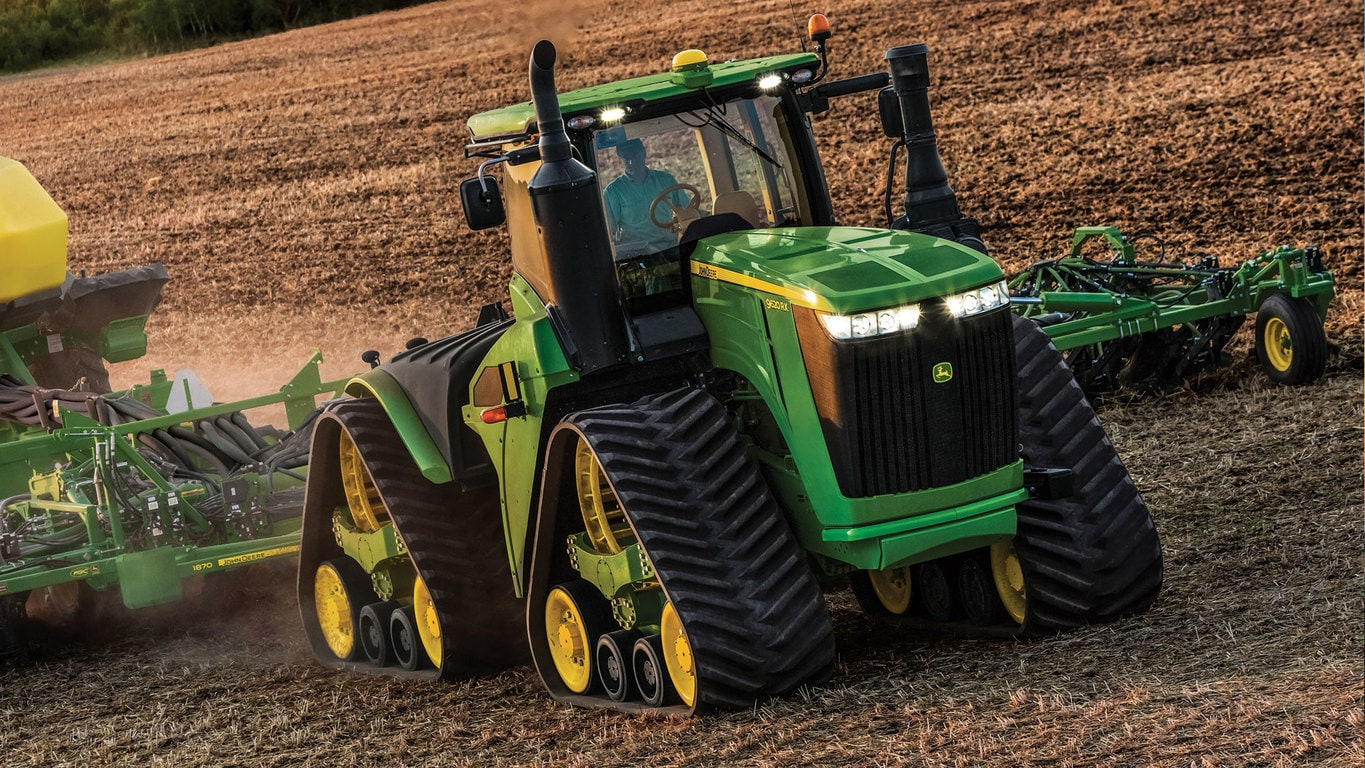 9620RX 4-Track, Wide Tractor