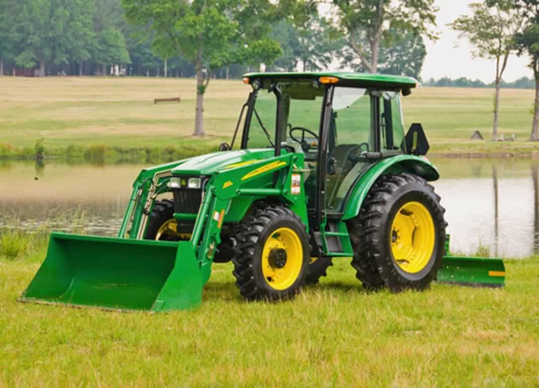 5093E (4 Cyl) Utility Tractor